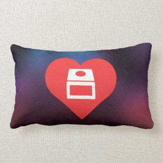 I Love gamecube Throw Pillow