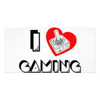 I love Gaming Photo Greeting Card