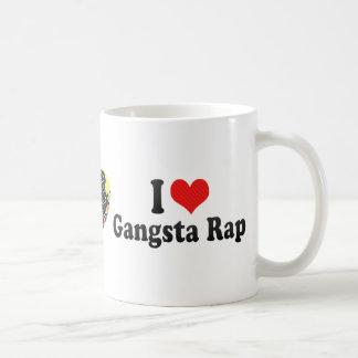 I Love Gangsta Rap Classic White Coffee Mug