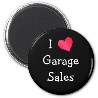 I Love Garage Sales Fridge Magnets