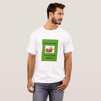 I love gardening from my head tomatoes T-Shirt