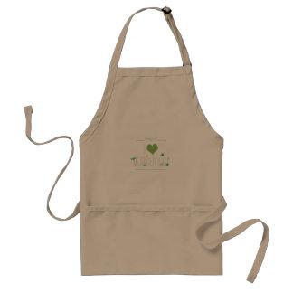 I love gardening standard apron