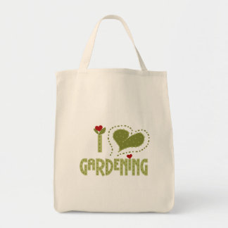 I Love Gardening Tshirts and Gifts Tote Bag