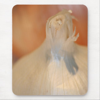I Love Garlic! mousepad