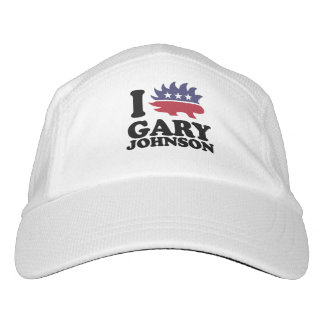 I Love Gary Johnson - Libertarian - -  Headsweats Hat