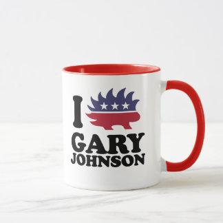 I Love Gary Johnson - Libertarian - -  Mug