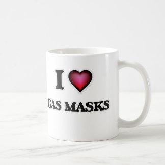I love Gas Masks Coffee Mug