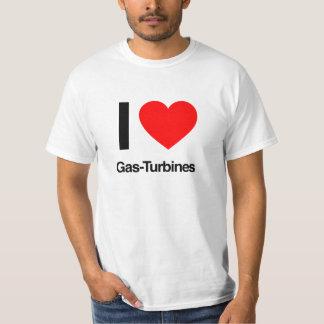 i love gas-turbines T-Shirt