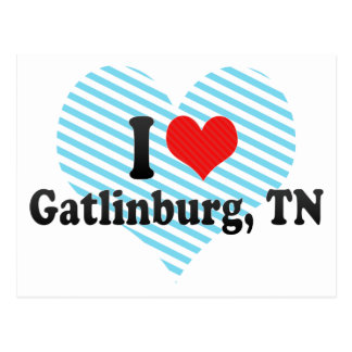 I Love Gatlinburg, TN Postcard