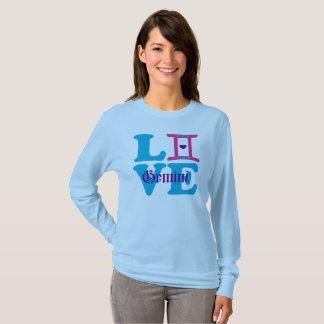 ♊★😍I Love Gemini-Best-Zodiac Sign Fab Longsleeve T-Shirt