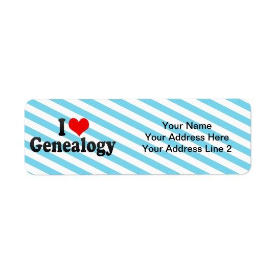 I Love Genealogy
