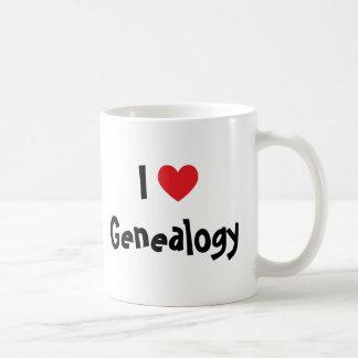 I Love Genealogy Coffee Mug