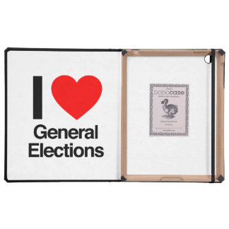 i love general elections cover for iPad
