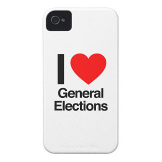 i love general elections iPhone 4 covers