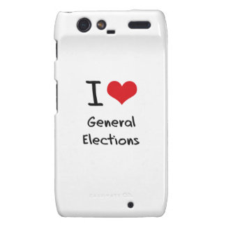 I Love General Elections Droid RAZR Cover