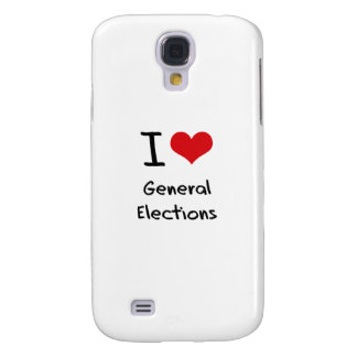 I Love General Elections Galaxy S4 Cover