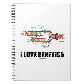I Love Genetics (DNA Replication) Notebook