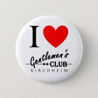 "I love Gentlemen's Club Button ""Kirchheim"""