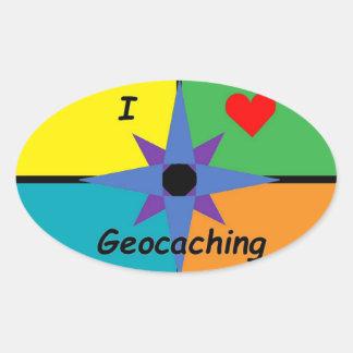 I Love Geocaching sticker