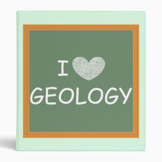 I Love Geology Binder