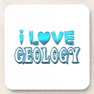 I Love Geology Coaster