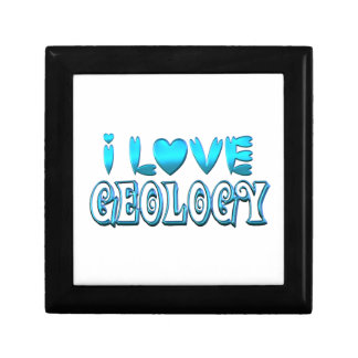 I Love Geology Gift Box
