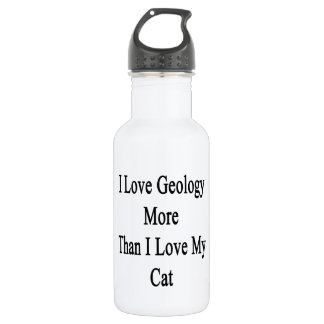 I Love Geology More Than I Love My Cat