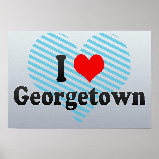 I Love Georgetown, Guyana Poster