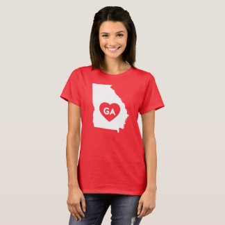 I Love Georgia State Women's Basic T-Shirt