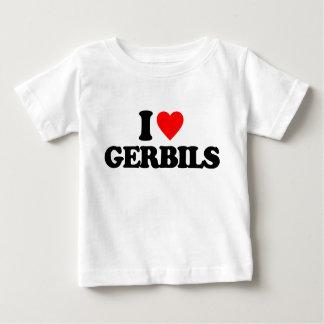 I LOVE GERBILS SHIRT