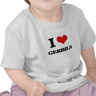 I love Gerbils T Shirt