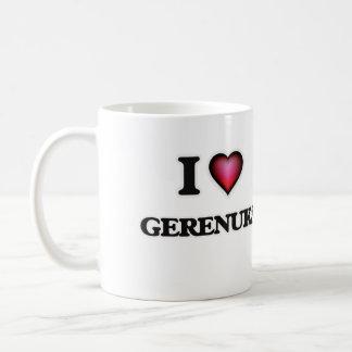 I Love Gerenuks Coffee Mug