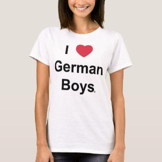I Love German Boys - Woman's tanktop
