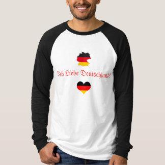 I Love Germany/Deutschland... T-Shirt