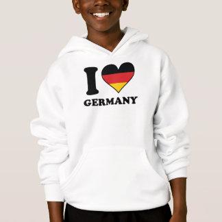 I Love Germany German Flag Heart