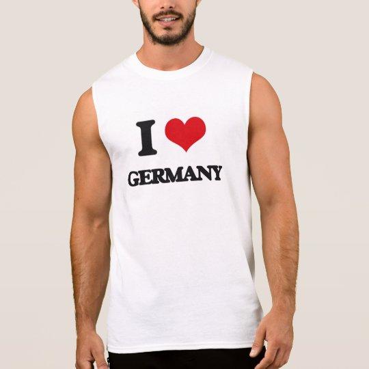 I love Germany Sleeveless Shirt