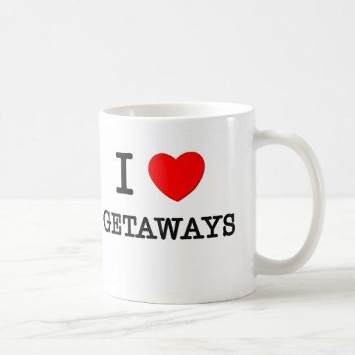 I Love Getaways Coffee Mugs