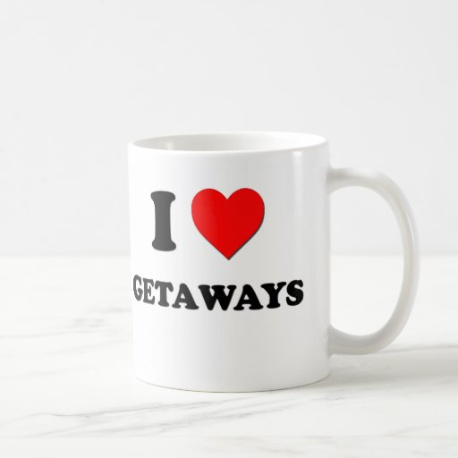 I Love Getaways Coffee Mug