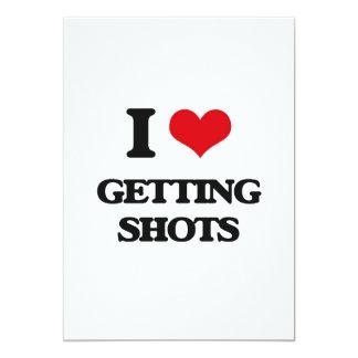 I love Getting Shots Card