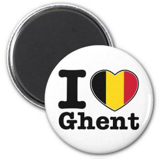 I love Ghent Magnet