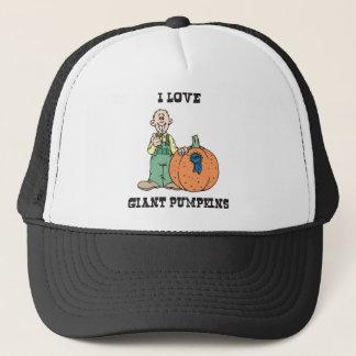 I Love Giant Pumpkins Trucker Hat