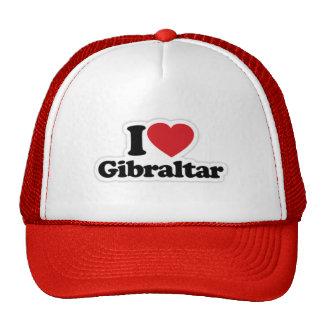 I Love Gibraltar Trucker Hat