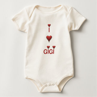 I love Gigi baby infant Baby Bodysuit