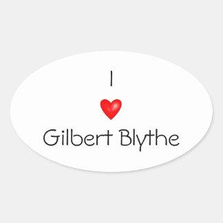 I love Gilbert Blythe car sticker