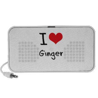 I Love Ginger Travelling Speaker