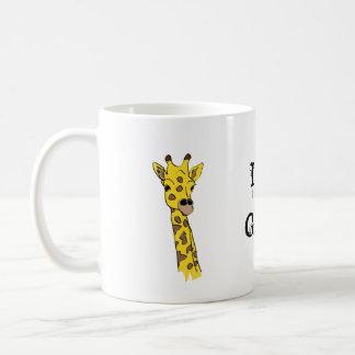 I Love Giraffes! Classic White Coffee Mug