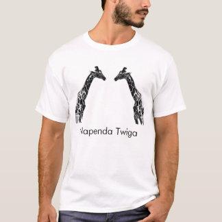 I love giraffes (napenda twiga) T-Shirt