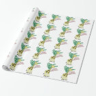 I Love Giraffes! Wrapping Paper