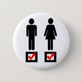 I Love Girls and Boys 2 Inch Round Button