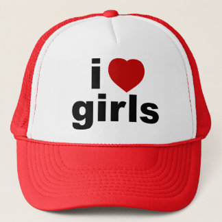 I Love Girls Hat